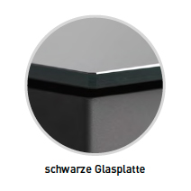 Novaline_Cantara_schwarz_Glasplatte