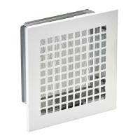 Lüftungsgitter 150 x 150 mm für Schornsteinschächte, weiß - SM1000000SE