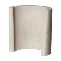 Sockel Beistelltisch Grillkamin, 42 x 25 x 43 cm - SM15350-8