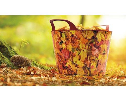 Holzkorb Universal Flexi Lienbacher, Herbstdekor