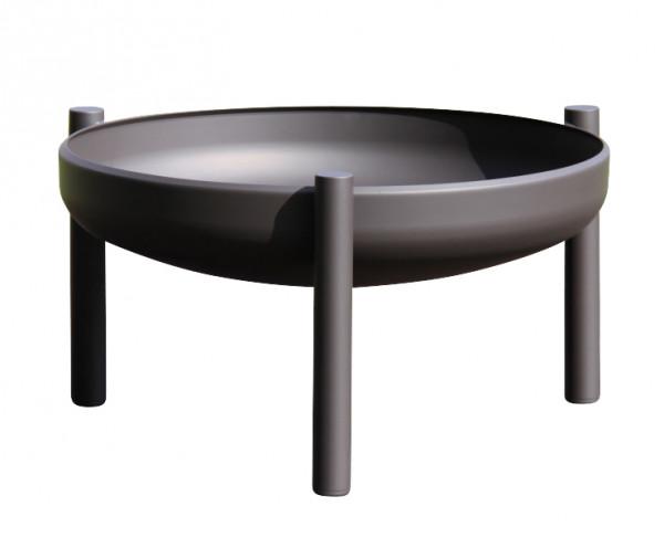 Ricon Feuerschale 0502, beschichtet, schwarz, Ø 60 cm