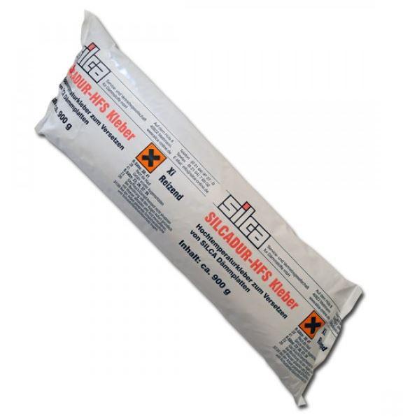 Silcadur HFS Hochtemperaturkleber für Silca KM Wärmedämmplatten, 900 gr.