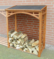 Erweiterungselement Brennholzregal ROMA - SM355-12