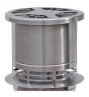 Rauchgasventilator BlueChimney Edelstahl - SM203-E