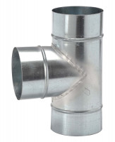 Flexrohr- T-Stück, Ø 100 mm - SMFLEXT100