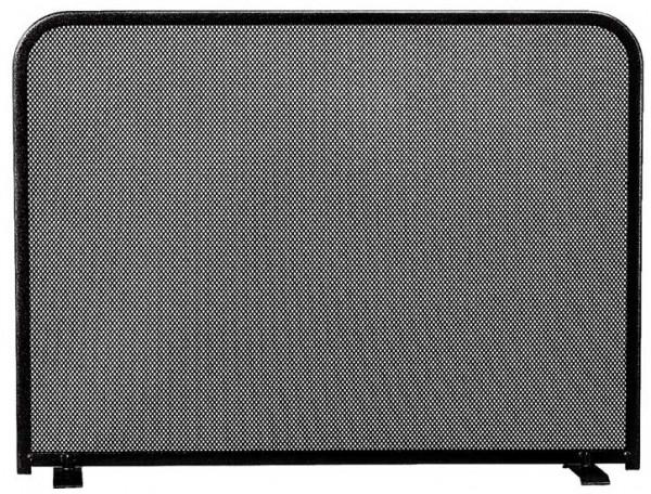Kamingitter Stahl MONO-3, 1- teilig schwarz