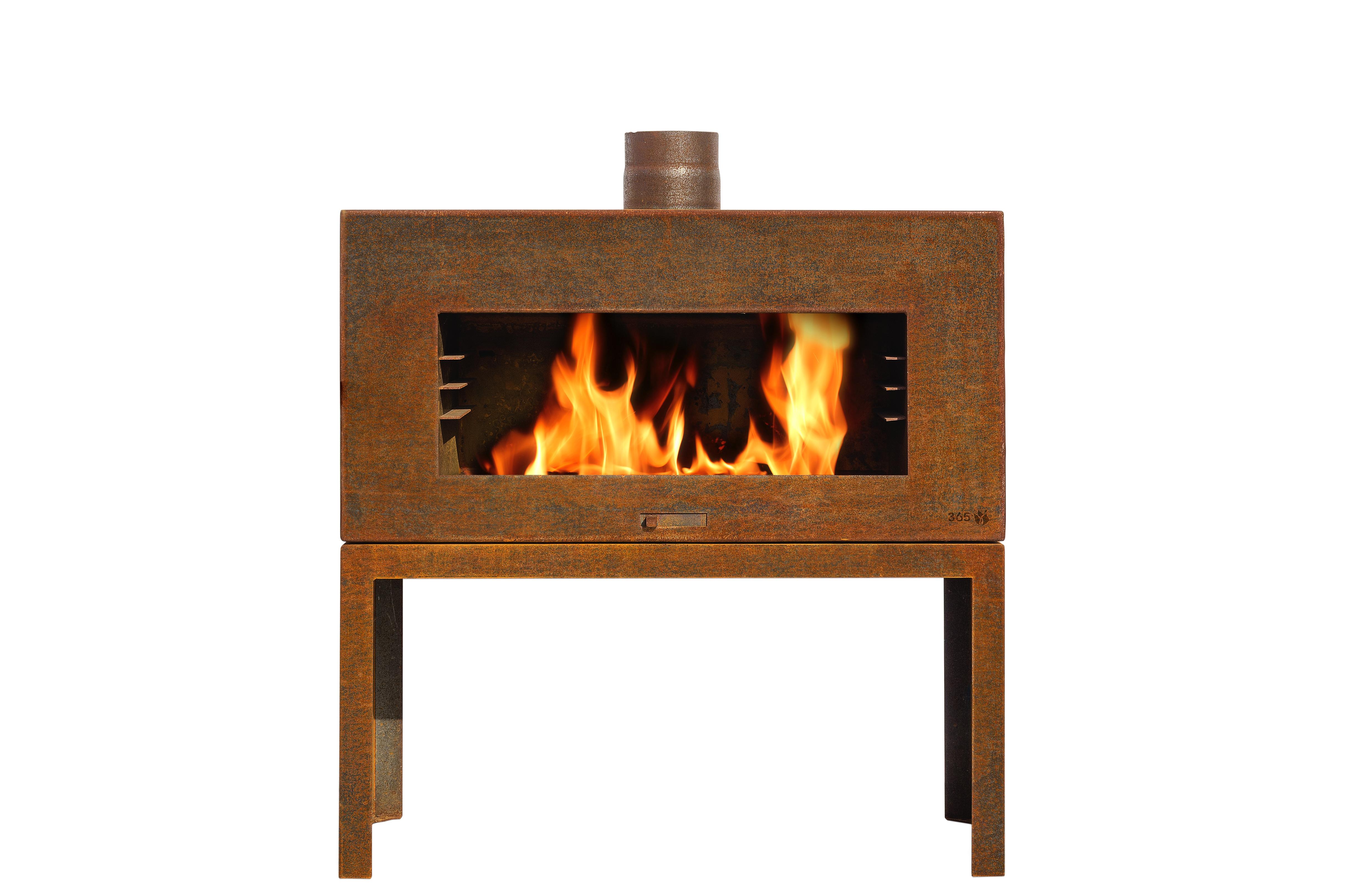 Terrassenofen Rost Stahl Tamina Feuercampus365 Kaufen Cafiro
