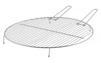 Grillrost Carbonstahl Esschert, Ø 52 x 5,4 cm - SMFF256