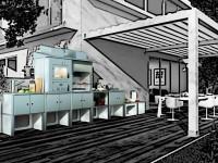 Outdoorküche Montage - SMMOOK