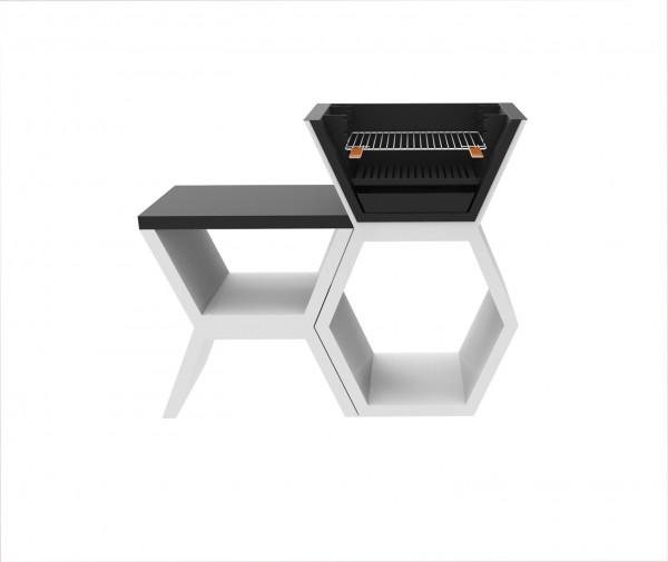 Grillbar Blive MOD 04 mit Seitentisch