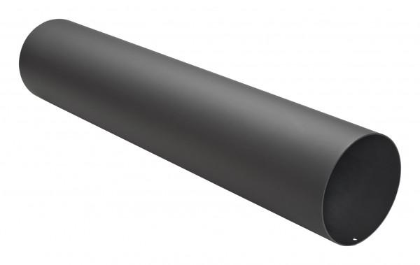 Rauchrohr Stahl 750 mm Ø 150 mm schwarz mit Kondensring