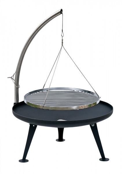 Nielsen Fire-Pit 600, inkl. Hänger und Rost aus Edelstahl