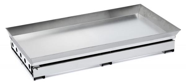 Edelstahl Schiebunterlage für Backfach MCZ Arcos und Premium 100