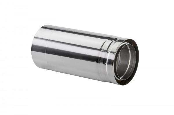 Längenausgleichsrohr 420-620 mm doppelwandig - eka cosmos D 25