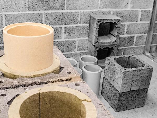 Keramikschornstein Montage