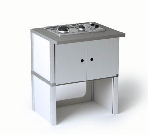 Outdoorküche Palazzetti St. Vincent Gasherd Modul kaufen   CAFIRO®
