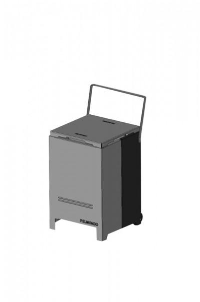 Brenner Aufbewahrungsbox Pelmondo Stahl
