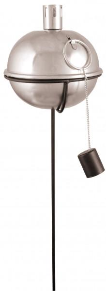Standfuß mit Bodenspieß für Öllampe