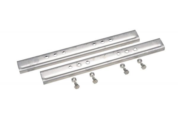 V2A Edelstahl Laufrostverbinder Set, 2 Stück