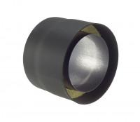 Rauchrohr Stahl doppelwandig 250 mm Ø 150 mm schwarz - SM07-110