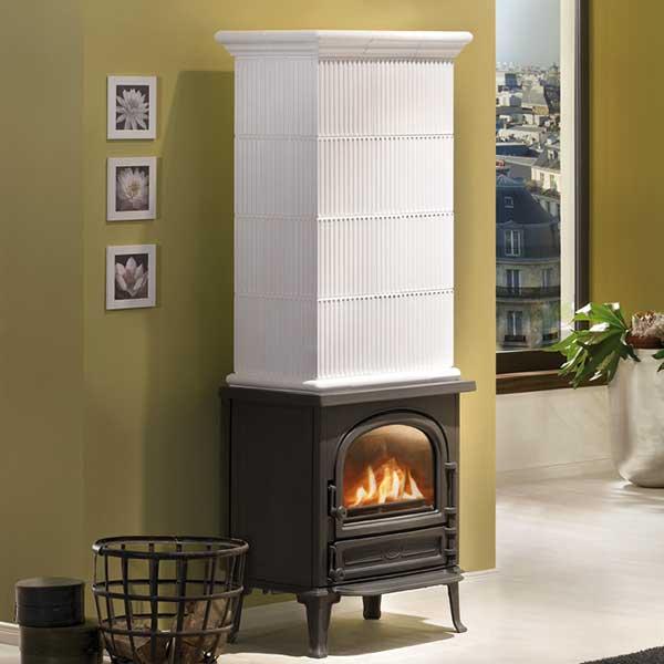 kaminofen leda antigua h schwarz 9 kw kaufen cafiro. Black Bedroom Furniture Sets. Home Design Ideas
