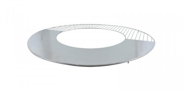 Grillrost Edelstahl mit Grillplatte Esschert, Ø 62 x 1,9 cm