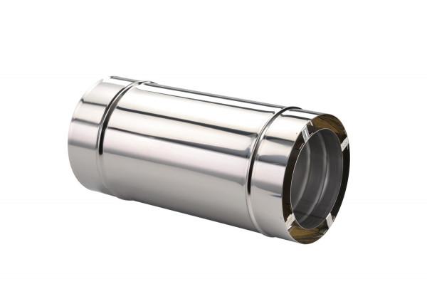 Längenausgleichsrohr 420-620 mm doppelwandig - eka chromos D 25