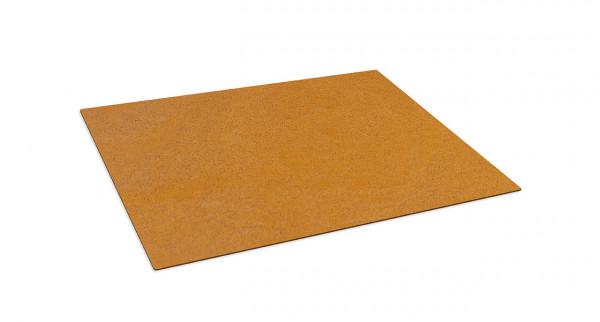 Bodenplatte Cortenstahl 745 x 745 x 3 mm, RB73 QUARUBA