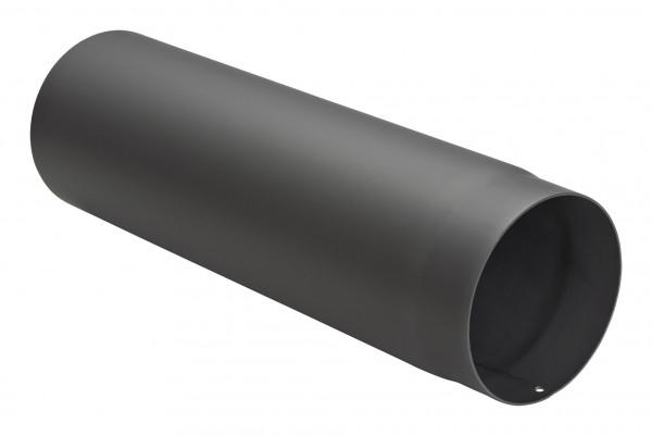 Rauchrohr Stahl 500 mm schwarz