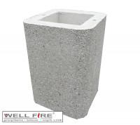 Haubenverlängerung Wellfire Grillkamin NOVA, NOVA Quattro weiß - SMN211091