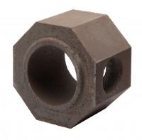 Keramik Modul Speicher 240 Rohr mit Bohrung 240 x 240 x 240 mm, Ø 160 - SM1602020
