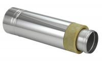 Schornsteinrohr Edelstahl 540 mm doppelwandig kürzbar - eka complex D 25 - SM2250113L5ET
