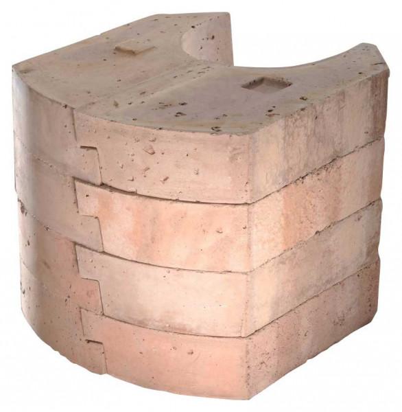 Wärmespeicher 50 kg Kaminofen Olsberg PACAYA PLUS 330 mm
