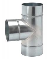 Flexrohr- T-Stück, Ø 125 mm - SMFLEXT125
