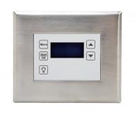 Compact Display für Ofenregelung, Unterputz Edelstahl - SM1008805
