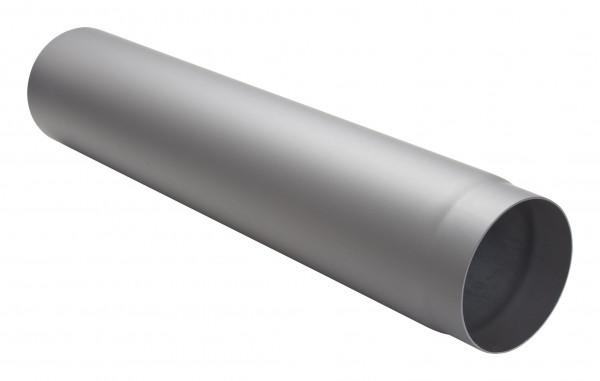 Rauchrohr Stahl 750 mm hellgrau