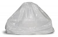 Grillkamin Abdeckhaube aus PE Gewebe weiß 220 x 250 x 92 cm - SM4009048