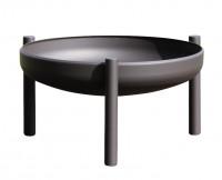 Ricon Feuerschale 0501, beschichtet, schwarz, Ø 50 cm - SM0501