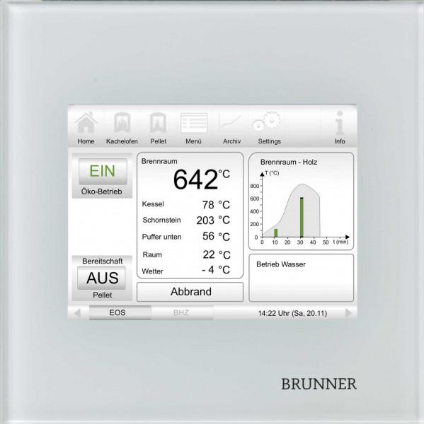 Brunner Elektronische Ofensteuerung EOS 7 Display und Steuereinheit