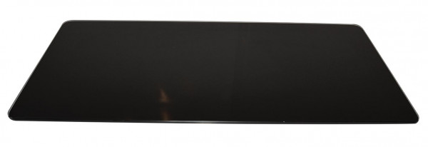 Vorlegeplatte ESG Glas schwarz Kaminbausatz SALZBURG M II