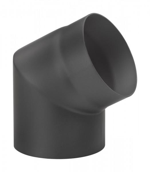 Rauchrohrbogen Stahl 60° Ø 150 mm schwarz