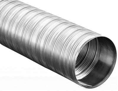 Schornstein Flexrohr 25,0 m Edelstahl einlagig - eka complex E Flex