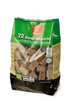 Kaminanzünder Holz Wachs, 72 Würfel - SM90722