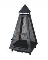 Feuerkorb Pyramide aus Stahl Lienbacher, schwarz beschichtet - SM21.00.610.2