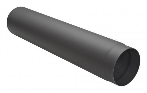 Rauchrohr Stahl 750 mm schwarz