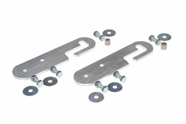 Verbindungsstücke aus Aluminium für Dachleitern, flexibel
