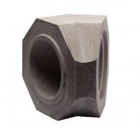 Keramik Modul Speicher 300 Bogen 135° 300 x 300 x 273 mm, Ø 180 mm - SM1603003