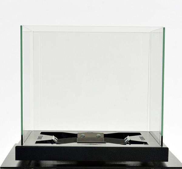 Windschutz Glas Pelmondo Feuertisch CUBE Glasaufsatz