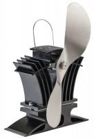 Kaminofen Ventilator Ecofan 806 CAKBX, schwarz-silber - SM806CAKBX