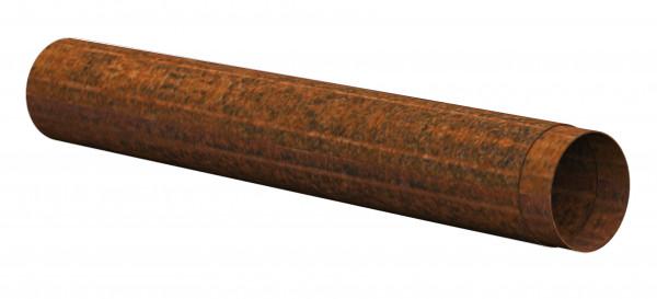 Ofenrohr Rost Stahl Ø 150 mm, 1000 mm lang